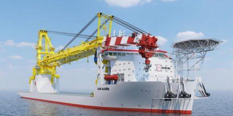 Jan De Nul picks monopile installation system for its heavy lift newbuild