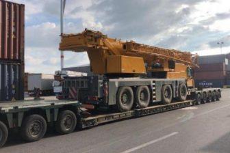 Liebherr heavy crane delivered to Dordrecht