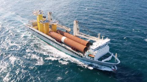 MV Svenja concludes Saint-Nazaire OWF foundations