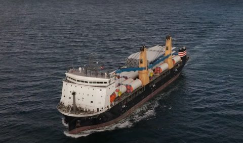 Video: NYK Line's heavy-lift newbuild makes first delivery to Japan