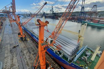 Tian Shou delivers wind blades to Poland