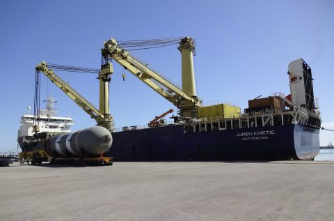 deugro moves one of heaviest heavy loads Germany has ever seen